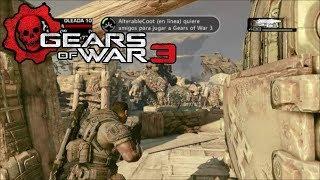 Gears of war 3: Modo Horda en Trincheras / Oleada del 1-10 / UN BRUMAK! :'v / Gameplay HD