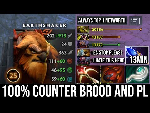 how-to-100%-deleted-brood-&-pl-with-13min-scepter-mid-earthshaker-|-amazing-1-echo-slam-k.o-dota-2