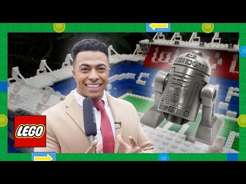 LEGO News - Stadiums in LEGO bricks, R2-D2 minifigures competition, LEGO Downtown Diner reveal