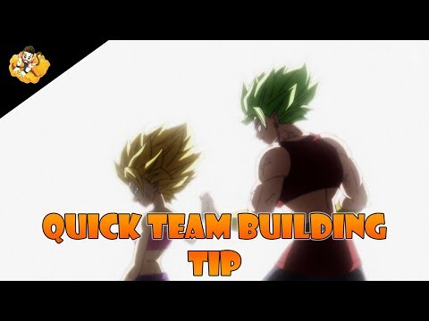 Team Building Tips Guide Dragon Ball Legends DB DBL DBZ
