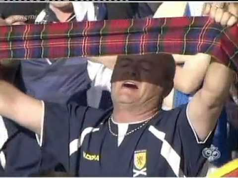 Flower Of Scotland - Donnie Munro - Hampden (Scotland v Italy)