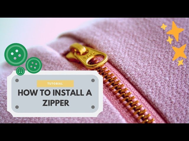 [Tutorial] How to Install a Zipper