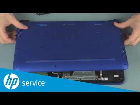 Replace the Base Enclosure | Pavilion 15-ab000 Notebook | HP