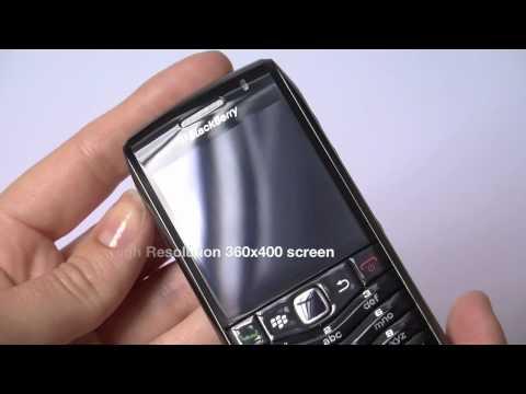 BlackBerry Pearl 3G hands-on (9105)