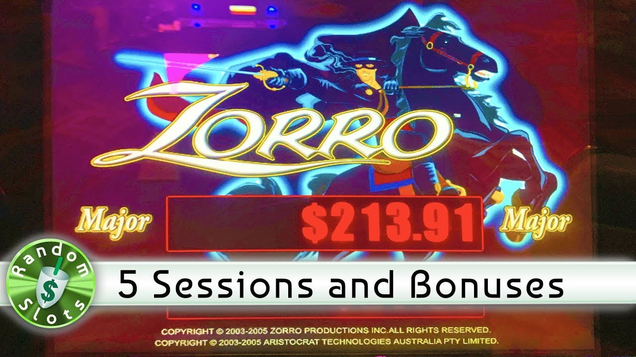 Slot Machines Zorro
