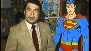 Supermans 50th Anniversary 1988--- KCRA-TV Sacramento CA
