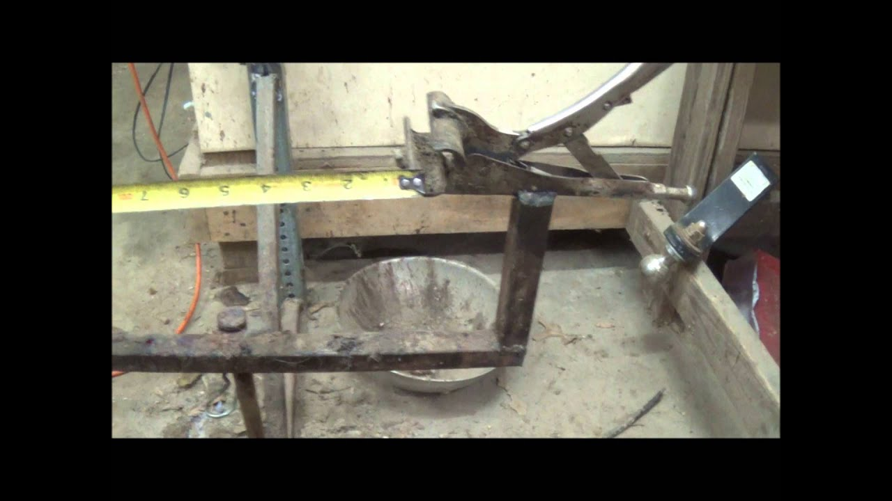 Deer skinning pole plans - How To Make A Gutting Table Rack Texasbowhunter Munity