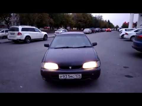 Обзор Тойота Корса 1998 года за 30 тысяч с автоматом! Часть 1