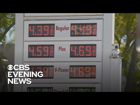 Gas prices rise above $4 for California drivers