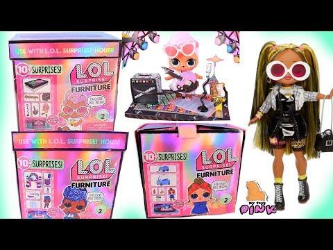 НОВИНКИ! КУКЛЫ ЛОЛ 2 СЕРИЯ! Мебель для Кукол LOL SURPRISE FURNITURE Series 2 + OMG DOLLS Распаковка