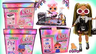 Download НОВИНКИ! КУКЛЫ ЛОЛ 2 СЕРИЯ! Мебель для Кукол LOL SURPRISE FURNITURE Series 2 + OMG DOLLS Распаковка Mp3 and Videos