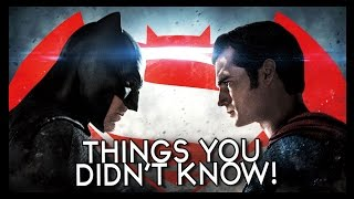 7 things you probably didn t know about batman and superman