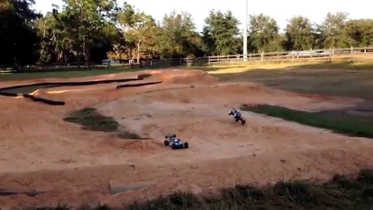 BackYard RC Track Build DIY #9 BERMS JUMPS - YouTube