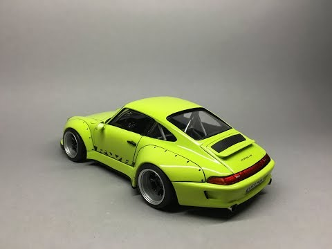 Tamiya/C1 Models: RWB Porsche 911 993 Full Build Step by Step