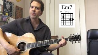 """5 easy acoustic """"color chords"""" you should know!"""