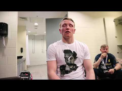 TOM FARRELL REACTS TO IMPRESSIVE 3RD ROUND STOPPAGE & STATES HOW HE WOULD BOX OHARA DAVIES DIFFERENT