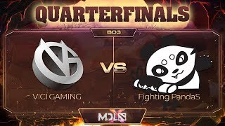 Vici Gaming vs Fighting PandaS Game 2 - MDL Chengdu Major: Quarterfinals