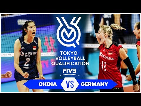 china-vs-germany-|-highlights---women-|-volleyball-olympic-qualifying-tournament-2019-(hd)