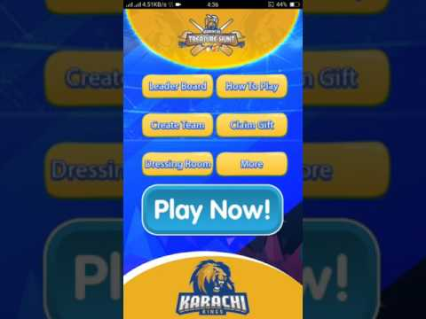 Karachi kings treasure hunt game part 2