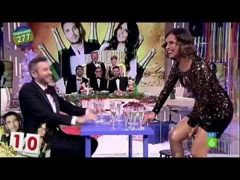 """Cristina Pedroche: """"¡Mira, mira, estoy chorreando!"""""""