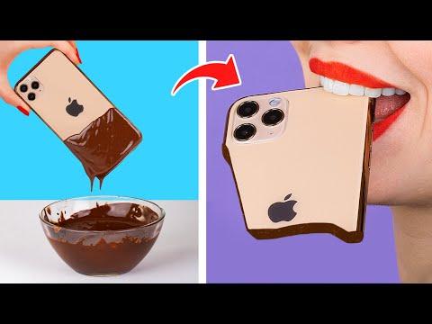 Челлендж шоколад или настоящее?