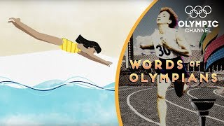 This Egyptian swimmer broke boundaries for women | Words of Olympians