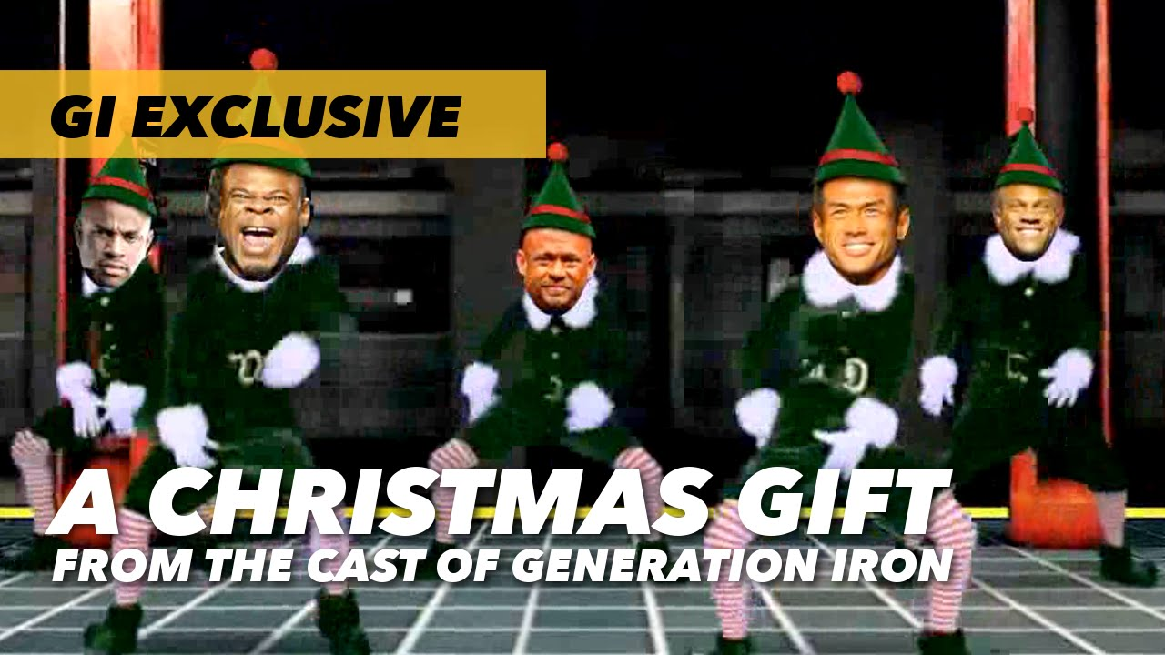 a christmas gift from the cast of generation iron - Cast Of The Christmas Gift