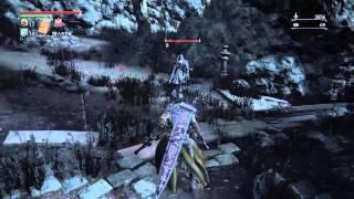 聖堂街 大聖堂右下へ降りた広場にいる2人組の狩人 SHAREfactory™ https:...