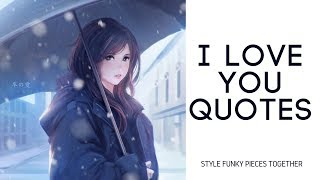 i Love You Quotes   Cute Love Quotes