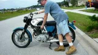 1963 Honda CB77 Superhawk