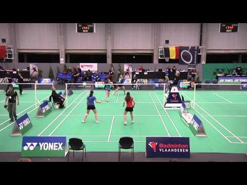 R1 - WD - Tina Van Buyten/Yente Van Aerschot vs Ann Knaepen/Présence Beelen