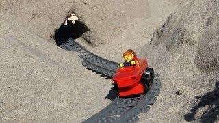 Lego Beach Roller Coaster
