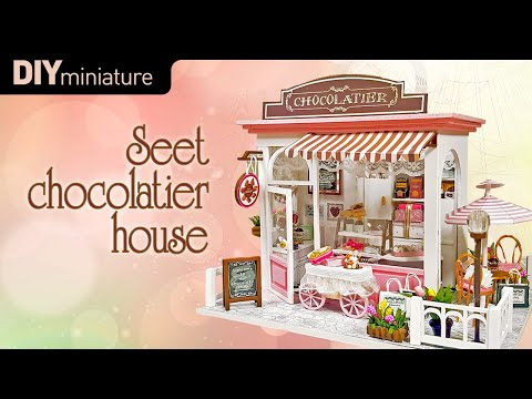 DIY Miniature House Chocolatier House By Whitehousehh