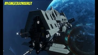 Space Engineers: Spotlights Dromedary Trade Ship