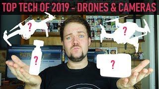 Top Tech Of 2019   Best Drones & Cameras   DansTube.TV