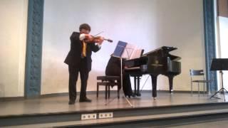 Meditation aus Thais von Jules Massenet für Violine und Klavier