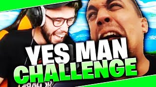 YES MAN CHALLENGE SUR FORTNITE AVEC TK !! #1