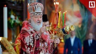 Смотреть видео Праздник светлой Пасхи в Москве онлайн