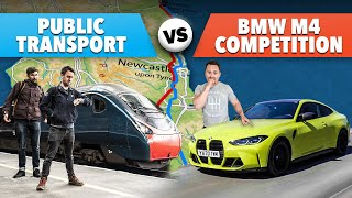 Public Transport Vs 500hp BMW M4 Competition