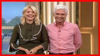 Phillip Schofield leaves Holly Willoughby in hysterics as he accidentally makes very awkward