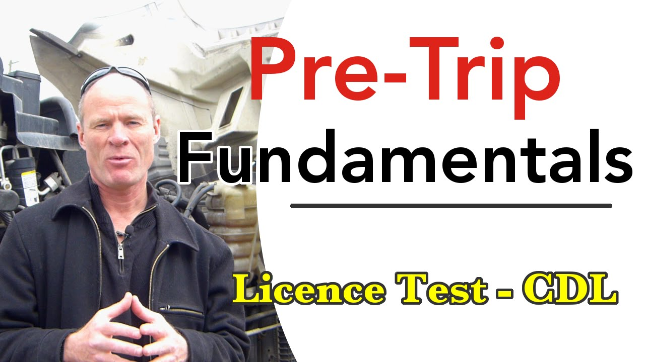 How to Pass a CDL Pre-Trip Inspection Test - YouTube