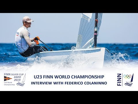 2019 Finn Silver Cup - Interview with Federico Colaninno