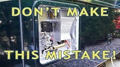 RV Water Heater Fail! Don't Make This Newbie Mistake!