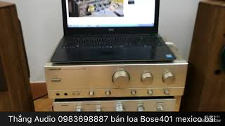 Download Video Âm ly Nhật bản giá hơn 2 triệu cho chất âm kinh ngạc với loa Bose401 bass đanh căng tròn xoe MP3 3GP MP4