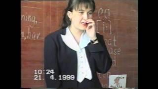1999 04 21 Урок англ яз Шарина НВ 2 класс