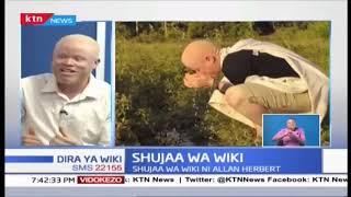 Kutana na Allan Herbert: Mpiga mpicha, mwanaharakati wa haki ya watu wenye albinism   Shujaa wa Wiki