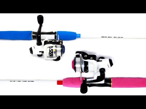 Shakespeare 6 Ft Hot Rod Kids Fishing Rod & Reel Combo