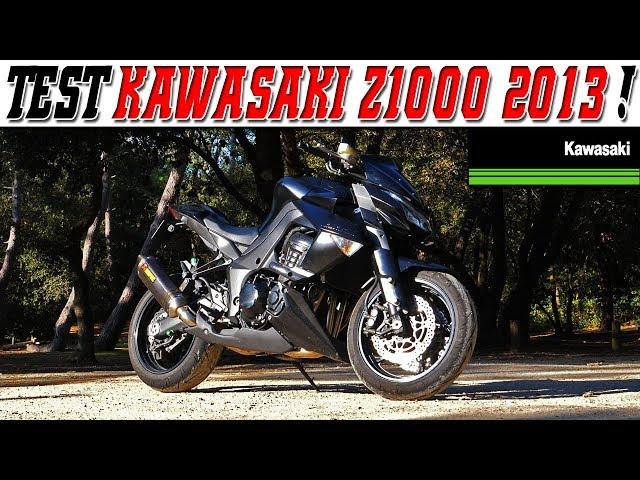 #MotoVlog 188 : TEST KAWASAKI Z1000 152ch 2013 / Du FULL black comme on aime !🖤