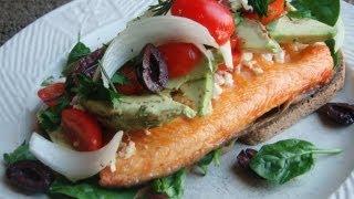 Low Carb Arctic-char Sandwich Recipe On Paleo Bread™