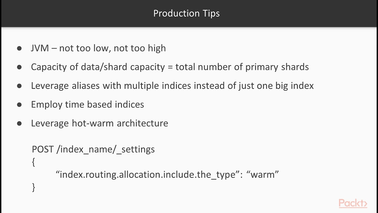 Mastering ElasticSearch : Production and Security Tips | packtpub com